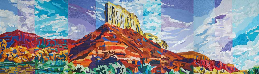 Palisades Triptych by Katie Pasquini Masopust
